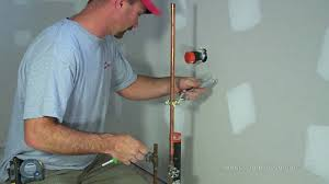 how to install plumbing how to install a water line to your fridge youtube