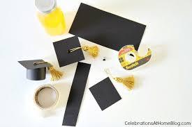 cheap graduation caps diy graduation cap bottle toppers celebrations at home