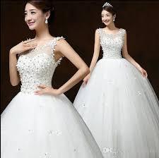 wedding frocks free shipping 2016 new wedding dresses white wedding frocks