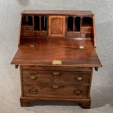 Secretary Writing Desk by Antique Writing Desk Bureau Chest English Georgian Mahogany
