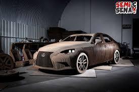 lexus indonesia bekas diilhami seni melipat kertas lexus ciptakan mobil dari kardus