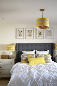 Yellow And Grey Room Home Design Decorating Ideas Gray And Yellow Bedroom With Purple