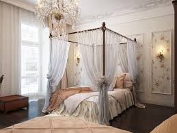 some ideas of the various materials of chic white canopy bed for
