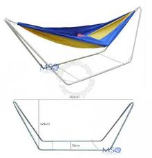 stainless steel hammock stand sports u0026 outdoors for sale in shah