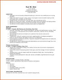 resume template nursing cna resume sle moa format
