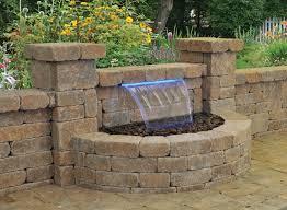 Backyard Water Feature Ideas Creative Of Water Feature Patio Outdoor Features Design In For