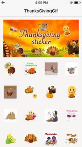 Thanksgiving Emoticons Free Thanksgiving Sticker Turkey Gifs U0026 Emojis Free On The App Store