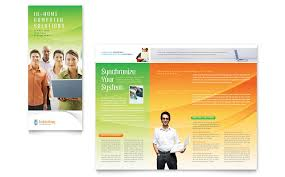 service brochure template global network services brochure