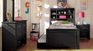 bookcase bedroom set cottage colors black 5 pc full bookcase bedroom girls bedroom