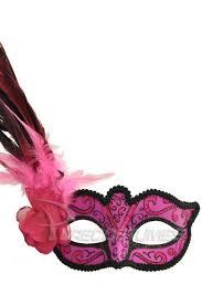 pink mardi gras mask madame mardi gras mask hot pink purecostumes