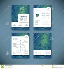 business report template business report template with low poly background project background brochure business document low management poly project report template