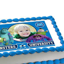 monsters inc cake toppers monsters edible cake topper frederick s s inc