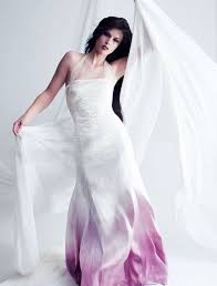 wedding dress not white 50 colorful wedding dresses non traditional brides will