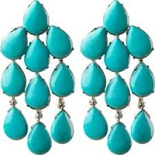 turquoise earrings turquoise earrings davis collection