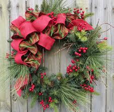 Homemade Christmas Wreaths by Christmas Wreath Decorating Ideas