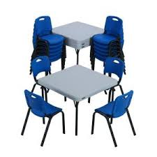 lifetime 20 piece blue and white children u0027s tables and chairs set