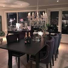 black dining room impressing marvelous black dining room furniture decorating ideas 15
