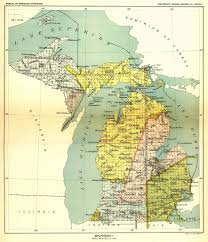 State Of Washington Map by How Michigan Became A State The Treaty Of Washington 1836