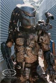 Alien Movie Halloween Costume Predator Bike Good Bad Halloween Costume
