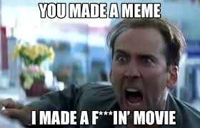 What Movie Is The Nicolas Cage Meme From - 13 he hates the bees the funniest nicolas cage memes complex