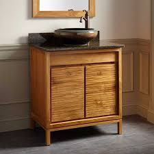 Teak Vanity Bathroom by Teak Bathroom Vanity Interiors Design