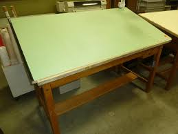 Mayline Oak Drafting Table Used Drafting Tables Hopper S Drafting Furniture
