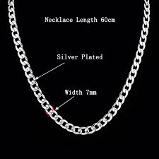 silver chain necklace wholesale images Candy male silver necklace jpg