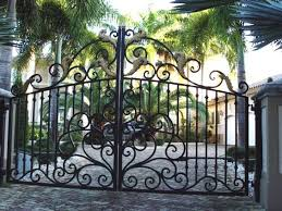 wrought iron entry gates raleigh wrought iron and fence co