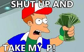 Take My Money Meme - futurama memes the frederick news post blogs