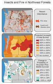 North Western United States Map by Northwest National Climate Assessment