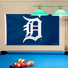 detroit tigers pool table cover tigers wincraft deluxe 3 x 5 flag