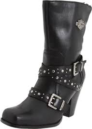buy womens biker boots harley davidson women s obsession motorcycle boot where were these