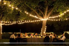 evening backyard wedding ideas backyard fence ideas