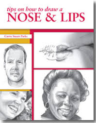 guide to drawing faces how to draw a face nose and lips
