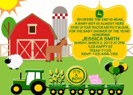 deere baby shower the most popular collection of deere baby shower invitations