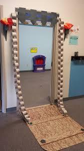 Cute Halloween Door Decorating Ideas Fairy Tale Drawbridge For My Classroom Door Summer Camps