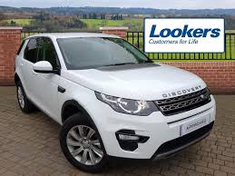 land rover discovery sport white land rover discovery sport td4 se tech white 2016 03 21 in