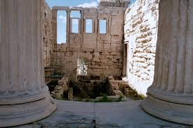 Parthenon Interior Martel 312 Home Page