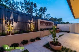 Exterior Home Lighting Design by Outdoor Wall Decorations Garden Exterior Home Design Ideas Feature