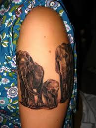 47 elephant family tattoos