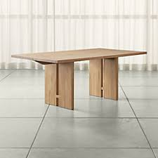 Crate And Barrel Dining Table Yukon Dining Tables Crate And Barrel