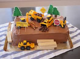 construction cake ideas construction zone cake with printable decorations paperfish designs
