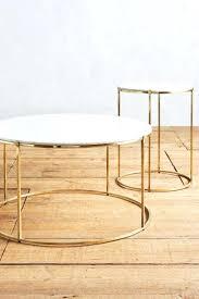 small gold side table side table gold side table bedside small round gold side table