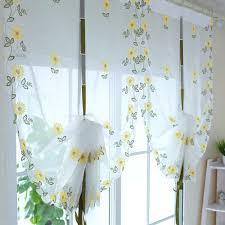 kitchen curtains modern sunflower kitchen curtains 96 sunflower pattern kitchen