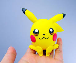 pikachu pokemon polymer clay egg figurine 5 steps with pictures