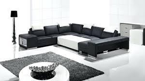 canap d angle cuir noir et blanc canape noir et blanc design trendy with canape blanc cuir design