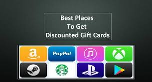 best place to get gift cards 10 best places to get discounted gift cards updated list