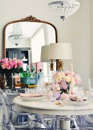 a glam holiday tablescape the pink dream