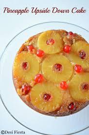 pineapple upside down cake eggless pineapple upside down cake