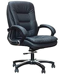 Durian Office Chairs Price List Durian Laura High Back Office Chair Matte Finish Black Amazon